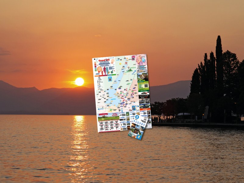 >> THE OFFICIAL MAP OF LAKE GARDA