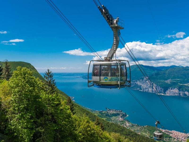 MALCESINE CABLE CAR REOPENING